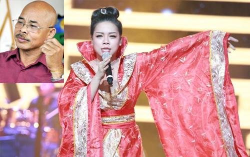 Chu Văn Quềnh bức xúc vì trang phục của Hà Linh
