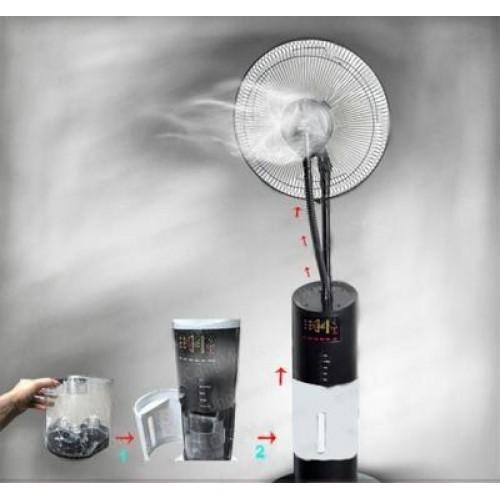 Quạt phun sương: Thủ phạm gây bệnh và hỏng thiết bị