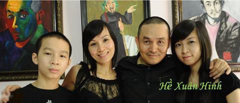 Xuân Hinh, biệt thự của sao, gia đình, hạnh phúc