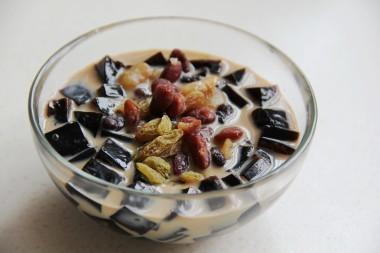 Cách làm trà sữa sương sáo thập cẩm tuyệt ngon