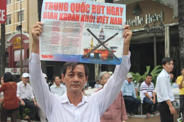 Biển Đông, giàn khoan HD 981, Trung Quốc, Việt Nam, Trần Đăng Tuấn, chủ quyền