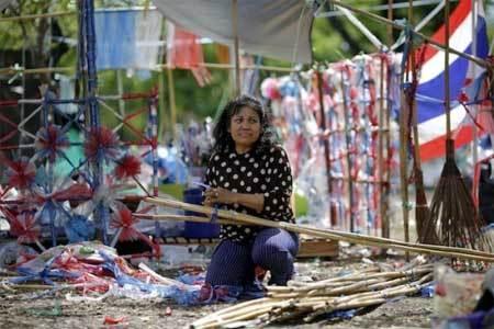 Thái Lan, khủng hoảng, biểu tình
