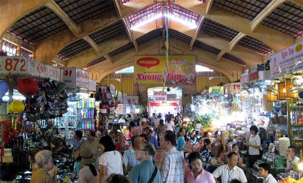 Chợ truyền thống cũng dọn hàng lên mạng