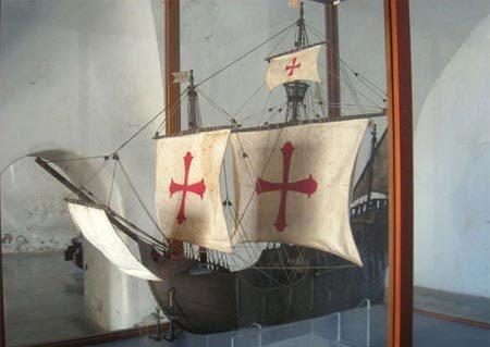 Christopher Columbus, Tân Thế giới, thám hiểm, nhà hàng hải, lừng danh, tàu đô đốc, Santa Maria