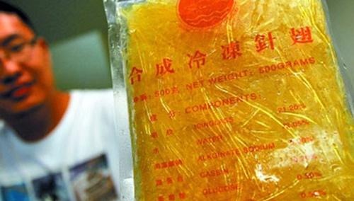 Hốt hoảng với những đồ ăn của Trung Quốc làm bằng cao su
