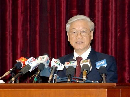 tổng bí thư, Nguyễn Phú Trọng, Biển Đông, phiếu tín nhiệm, HĐND, quy chế bầu cử, hội nghị TƯ 9, cương lĩnh, hiến pháp