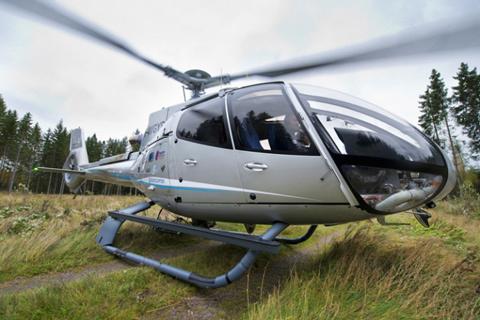 Cận cảnh chiếc trực thăng riêng thứ 3 của đại gia Việt