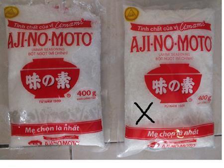 Mì chính, bột nêm giả tràn vào Việt Nam