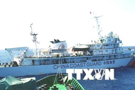 Trung Quốc, giàn khoan, Biển Đông, chủ quyền, kiểm ngư, ngư dân, tàu tên lửa, tàu tuần tiễu
