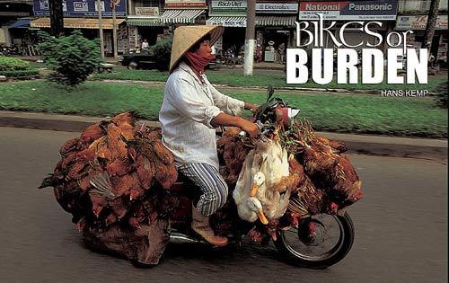 Nhiếp ảnh gia 'Tây' ngỡ ngàng với xe máy ở Việt Nam