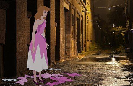 nhân vật, phim hoạt hình, ác mộng, thảm cảnh, đời thực
