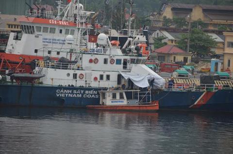 cảnh sát biển; kiểm ngư; Kỳ Hà; Trung Quốc; Hoàng Sa