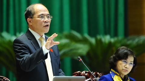 Quốc hội ra thông cáo yêu cầu TQ rút giàn khoan