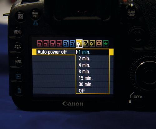 thời lượng pin, máy ảnh