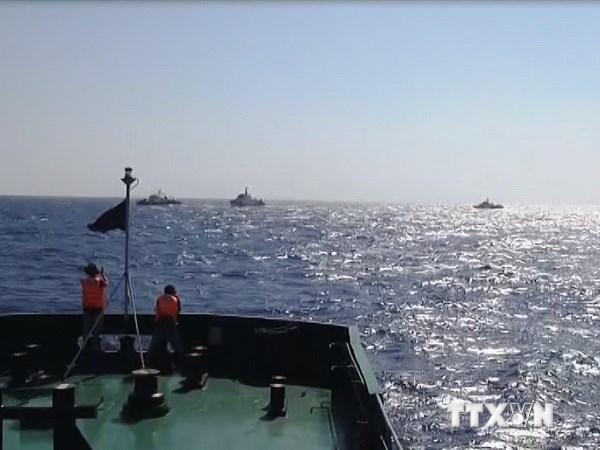 giàn khoan, kiểm ngư, cảnh sát biển, chủ quyền, Hải Dương 981
