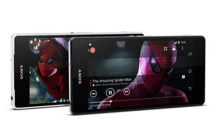 Chất lượng âm thanh của Sony Xperia Z2 rất trong và rõ ràng
