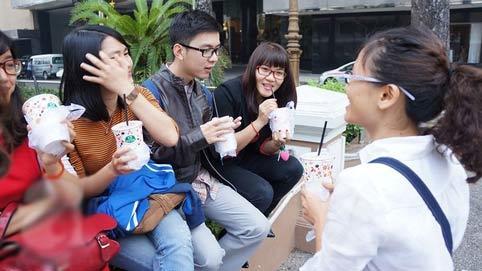 cà phê bệt, Sài Gòn, hồ con rùa