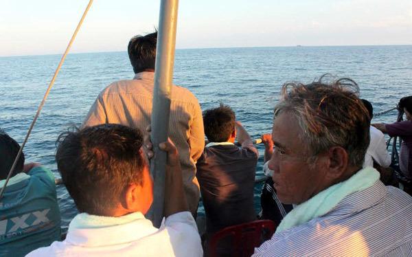 tàu cá; ngư dân; TQ; đâm chìm; Lý Sơn