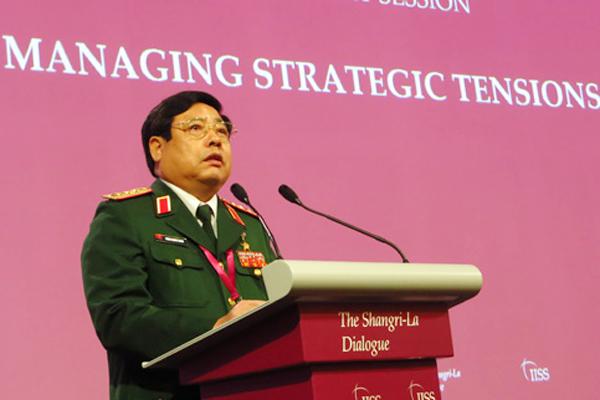 Bộ trưởng Quốc phòng, Phùng Quang Thanh, Shangri-La, chủ quyền, Biển Đông, Hải Dương 981, TQ, giàn khoan