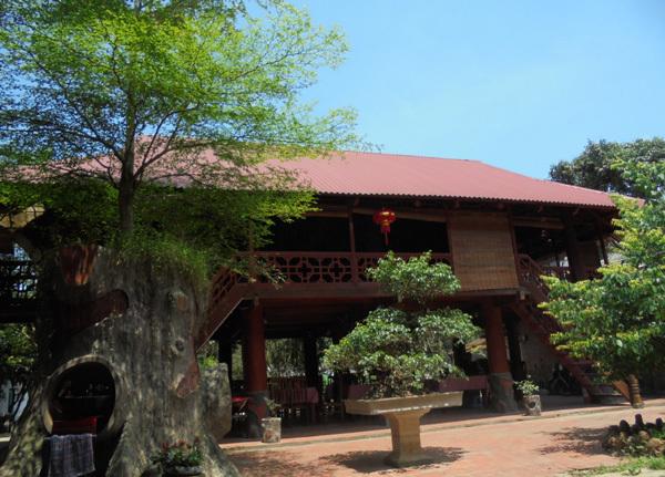 Homestay in the Thai village