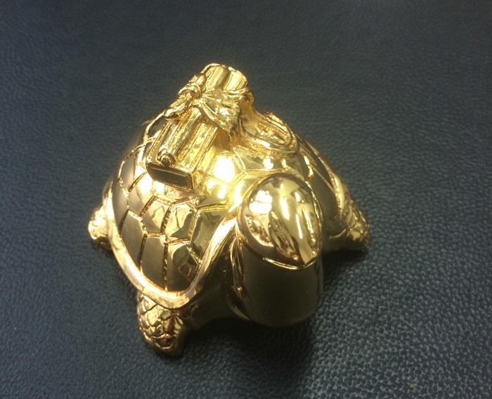 Chiều sĩ tử, tặng cả linh vật rùa mạ vàng