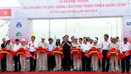 Thông xe cầu vượt sông dài nhất Việt Nam