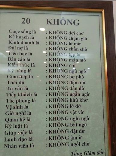 Choáng với nội quy 'ăn nhậu'' chỉ ở nhà hàng Việt Nam