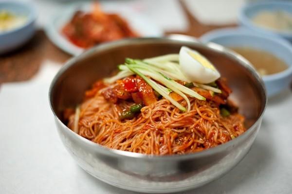 Hàn Quốc, món ngon, mì Hàn Quốc, mì lạnh