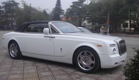 siêu-xe, Rolls-Royce Phantom, Cường-đôla, Cường Luxủy, Đỗ-Bình-Dương, bầu-Thụy,