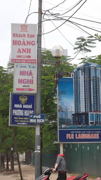 biển quảng cáo độc, nhà nghỉ, khách sạn, hình ảnh độc đáo