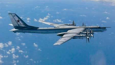 Phi đội máy bay ném bom Nga áp sát Mỹ