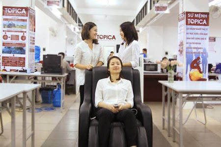 Độc đáo văn phòng ngủ trưa giống Google ở Việt Nam