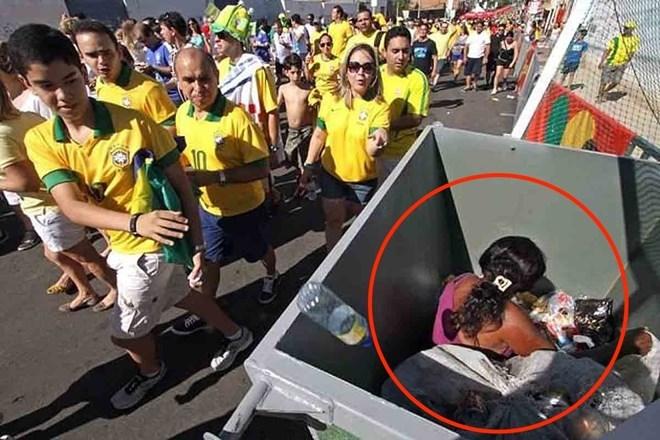 World Cup, giàu nghèo