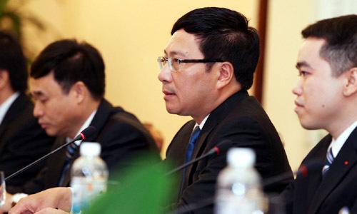 Ông Dương Khiết Trì đến Hà Nội