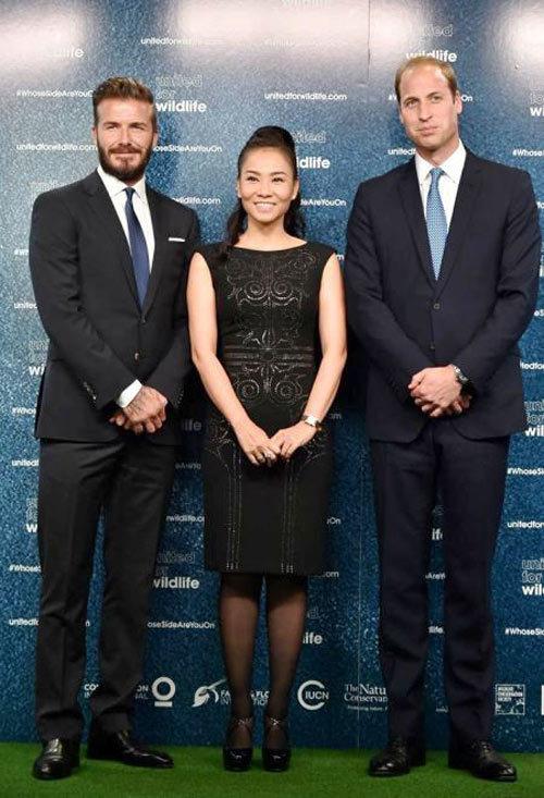Thu Minh, chồng tỷ phú, thế lực, David Beckham