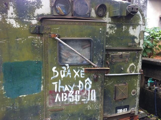 tiệm-sửa-xe-đẹp, xe-quân-sự, đặc-chủng, trộm-viếng thăm, Lục-Ngạn