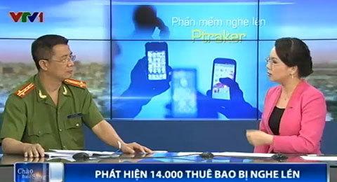 nghe lén, điện thoại, di động, smartphone, Việt Hồng, quyền kiểm soát, phần mềm, Ptracker,