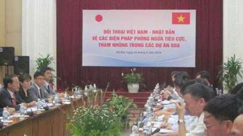 Việt - Nhật họp bàn chống tham nhũng ODA