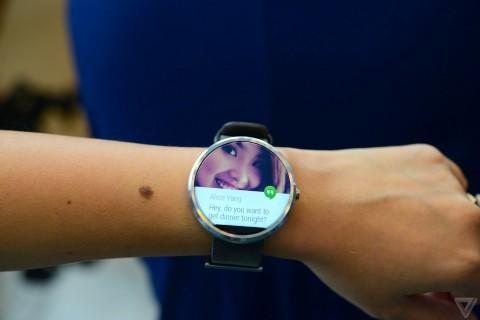 Moto 360 bất ngờ xuất hiện tại Google I/O