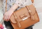 Túi xách thời trang đầy mầm bệnh tật