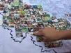 Gửi tặng chiến sỹ Trường Sa tấm bản đồ lớn nhất Việt Nam
