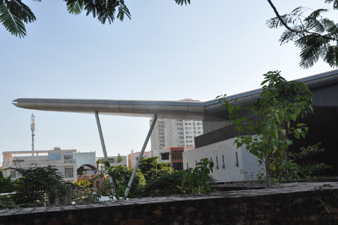 Cận cảnh, Tòa nhà hành chính, 95 triệu USD, Đà Nẵng