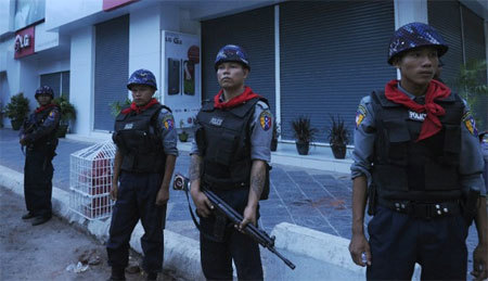 bạo lực, tôn giáo, Myanmar