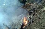 Máy bay cháy động cơ trước khi rơi xuống ngoại thành HN