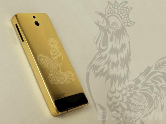 Bộ sưu tập điện thoại mạ vàng 12 con giáp của đại gia xứ Nghệ