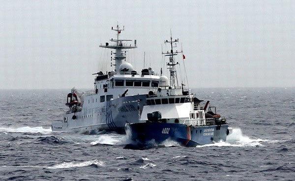 Biển Đông tuần qua: Biểu ngữ tiếng Việt trên tàu TQ