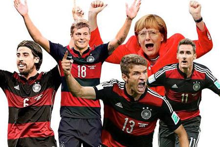 Đức, chiến thắng, World Cup, bóng đá, đức tính, bài học