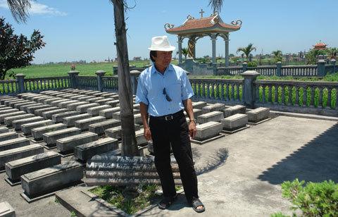 Nam Định, nhặt xác, Trực Ninh, từ thiện...