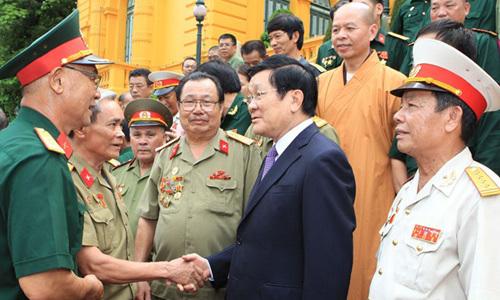 Vị Xuyên, biên giới, Chủ tịch nước, cựu chiến binh