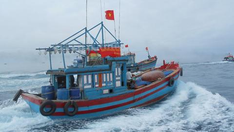 13 ngư dân vẫn đang bị giữ ở Tam Á